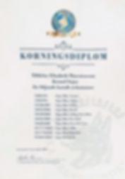 Korningsdiplom