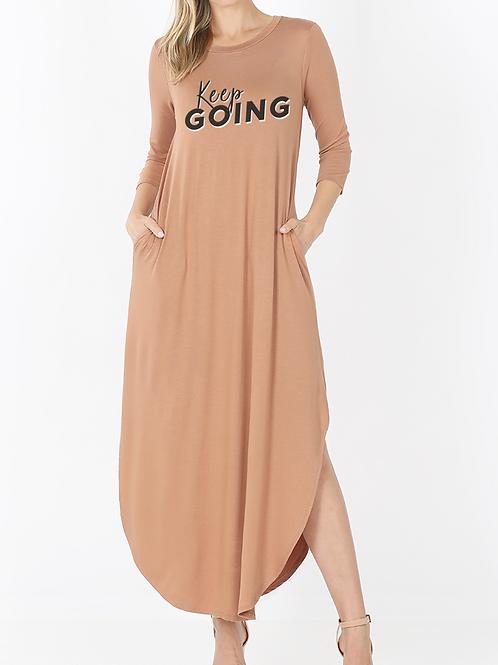 """Keep Going"" Maxi Dress"