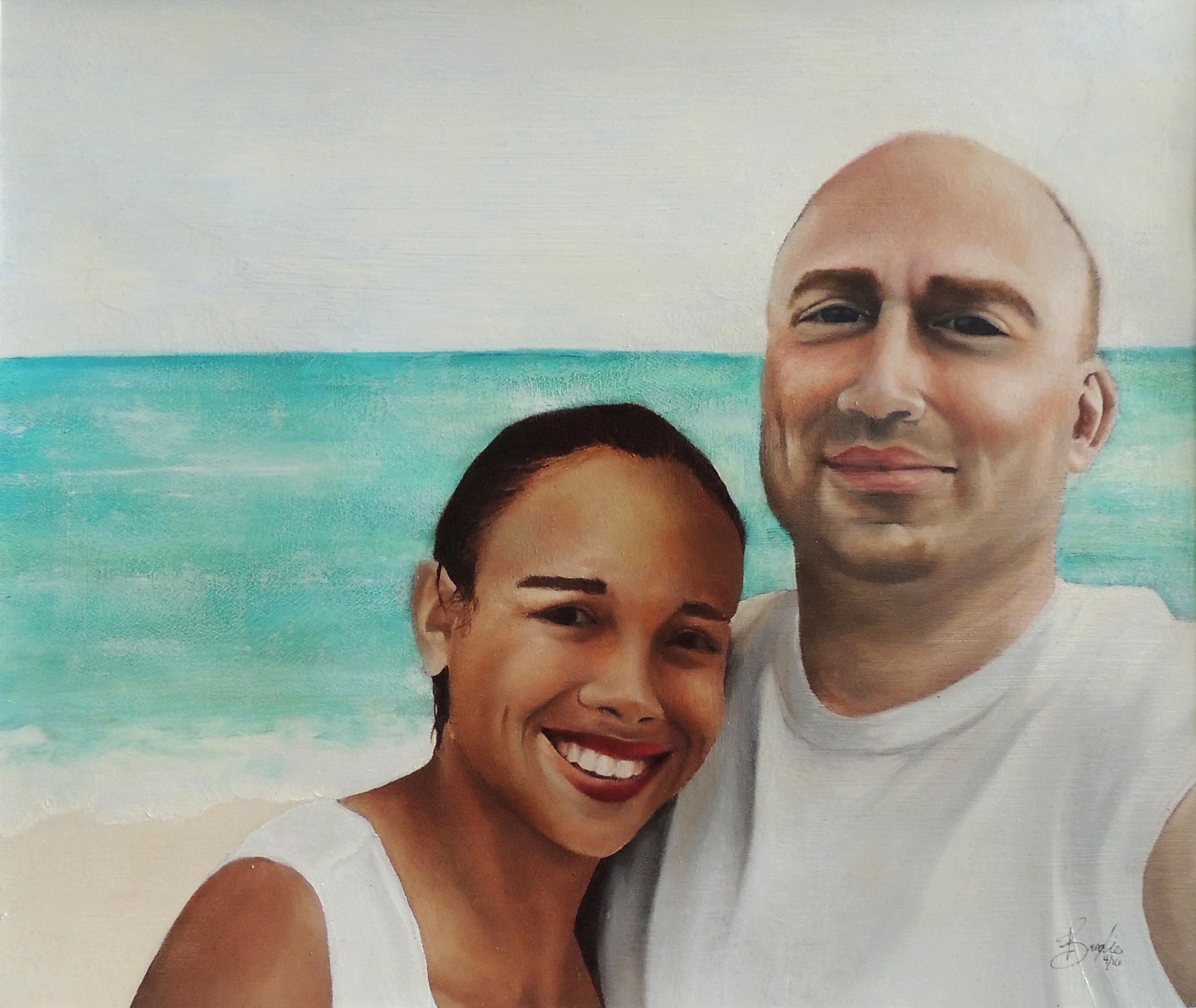 Brad and Diana