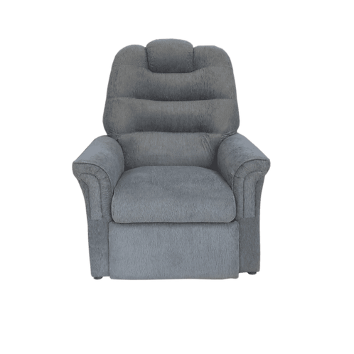 Poltrona Reclinable Chenille Gris