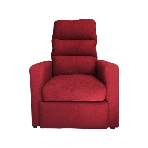 Poltrona reclinable Chenille Bordo