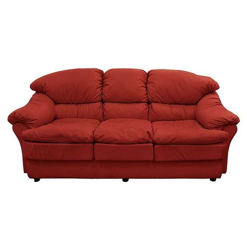 sillón 3 cuerpos ecocuero