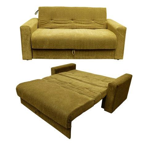 sofa cama 2 plazas Chenille Camel