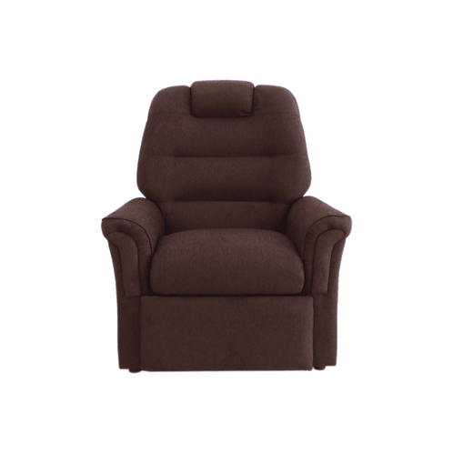 Poltrona Reclinable Chenille chocolate