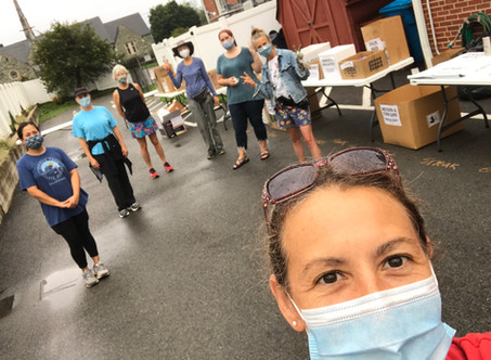 💚♻️Sustainable Roanoke's August 22 Recycling Event ~ The craziest to date! 🌦🌧☁️🌥⛅️☔️