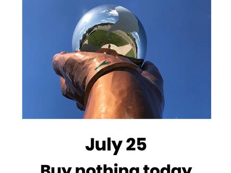 PFJ 2021 ~ Buy nothing today