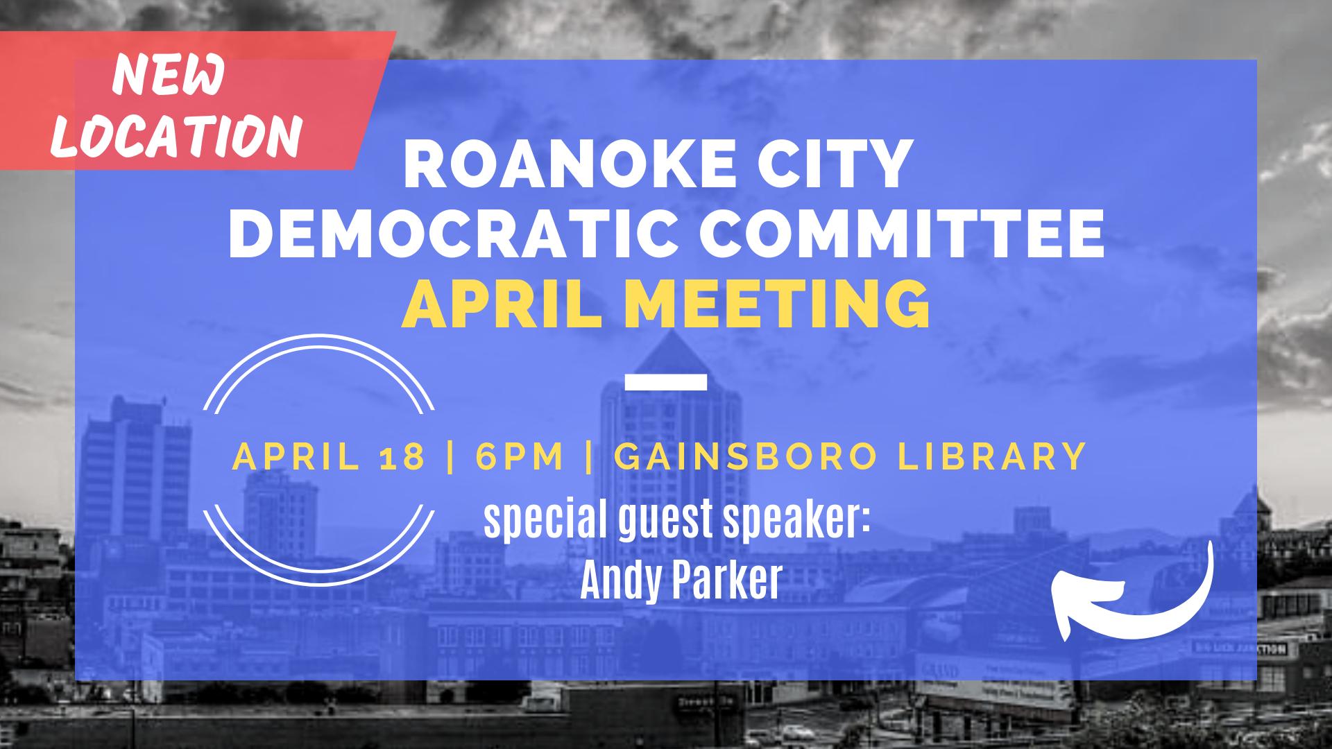 RCDC April Meeting