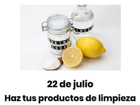 JSP 2021 ~ Haz tus productos de limpieza