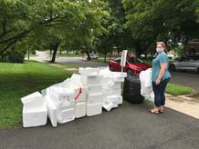 Styrofoam love. Not really.