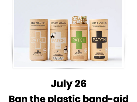 PFJ 2021 ~ Ban the plastic band-aid