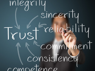 Training Goal: Build, Manage and/or Maintain Trust