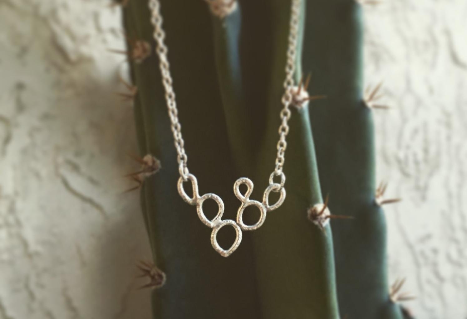 Prickly Pear necklace
