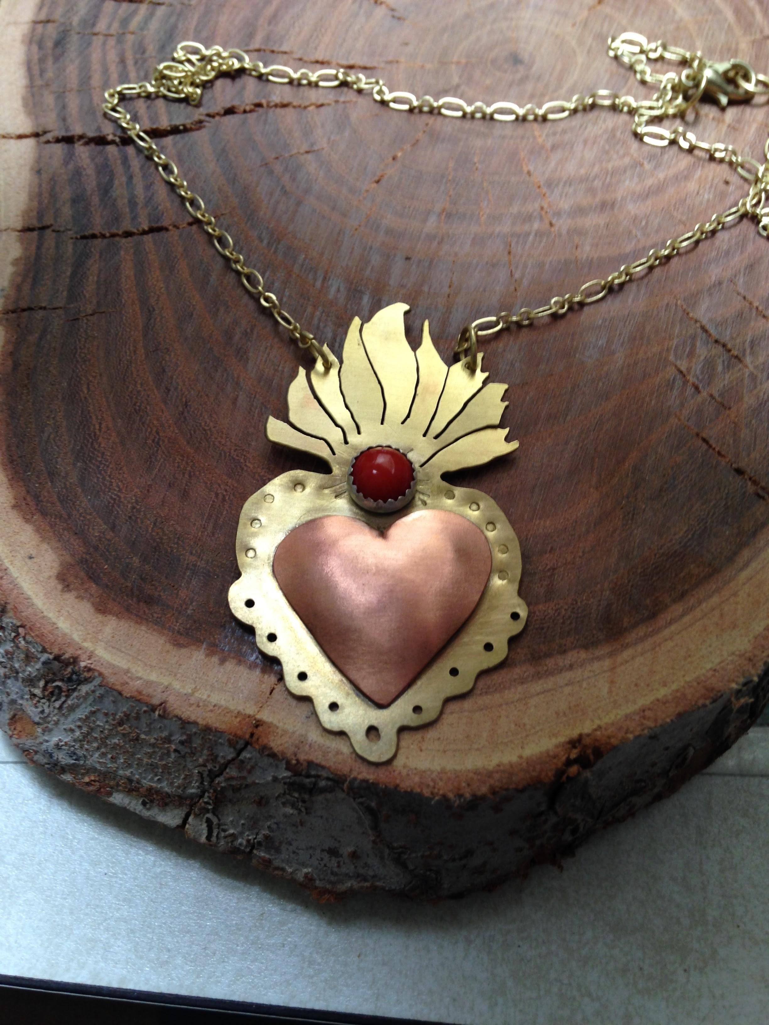 Original Milagros Heart