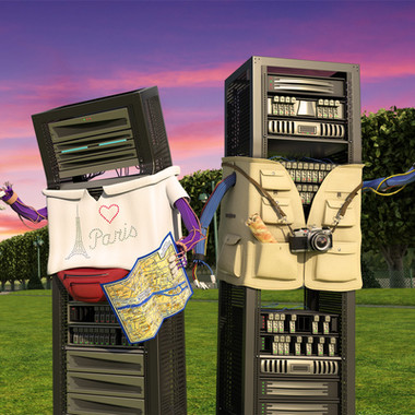 Nimble Storage Outdoor Ads