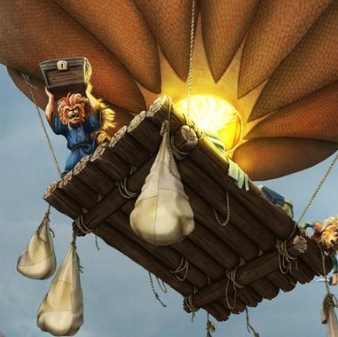 Balloon Raft Escape