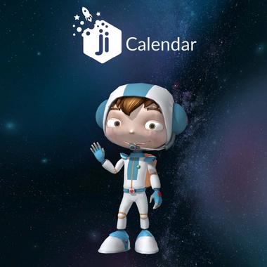 Ji Calendar Runner Game