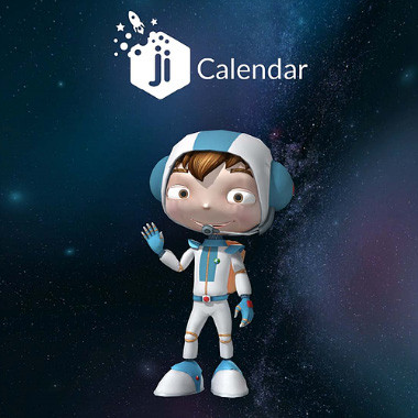 Ji Calendar Runner Game