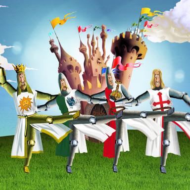 Monty Python Spamalot Game Trailer
