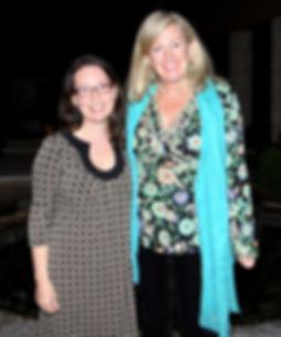 Laurence Mercier and Sarah McLean