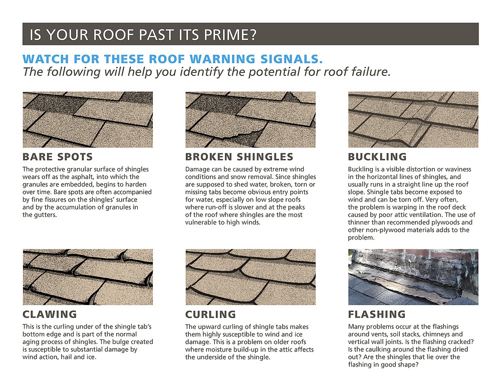 Signs your roof needs replaced