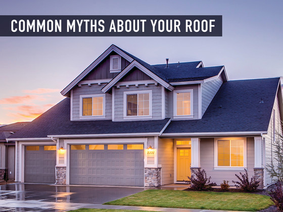Common Myths About Your Roof