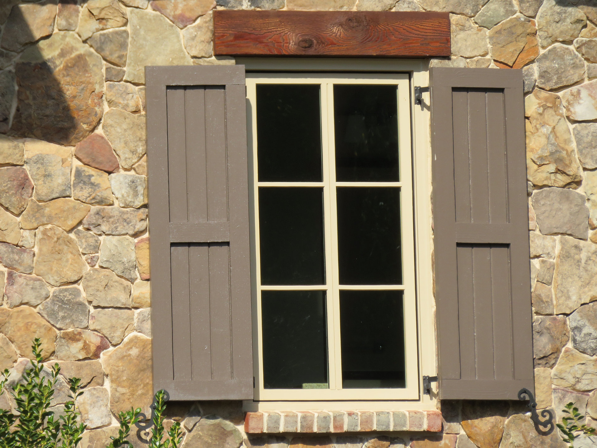Custom Glass Apex Vintage Shutters Raleigh Custom