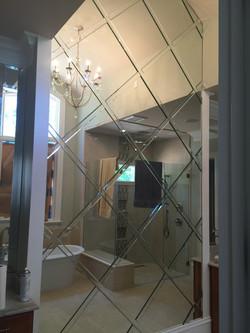 Custom Basket Weave Mirror (2)