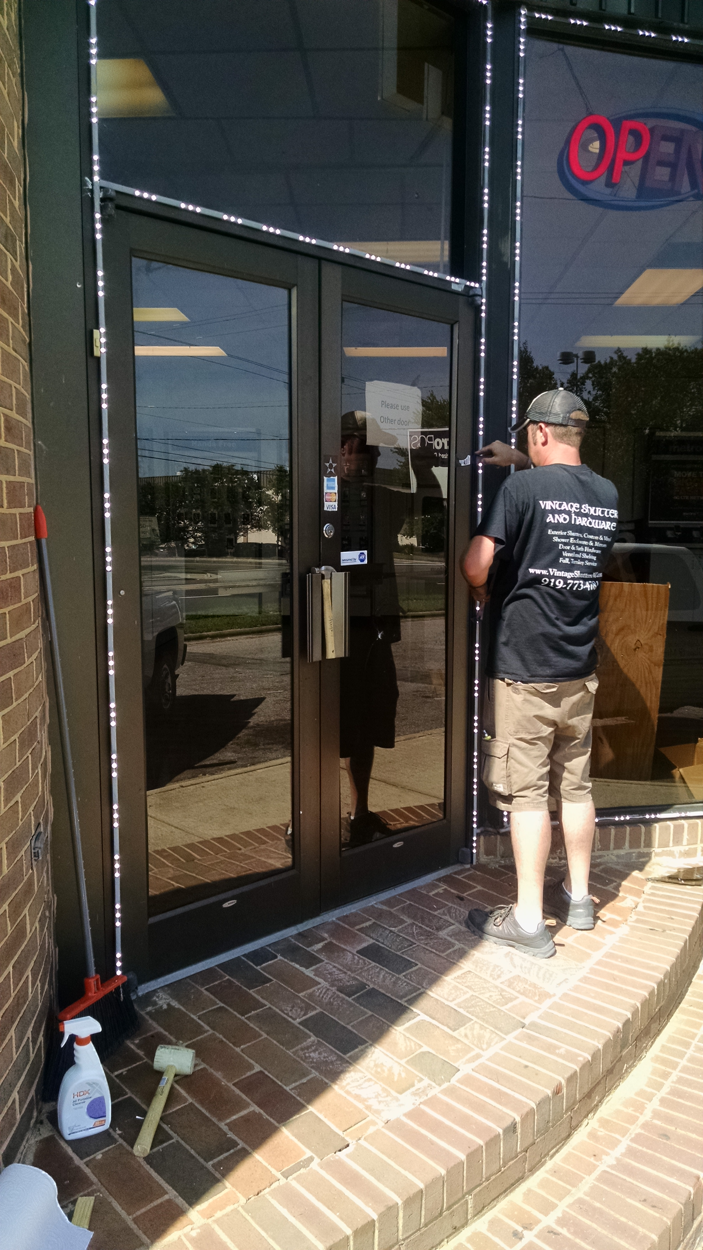 Glass Storefronts in Raleigh | Commercial Glass | Commercial