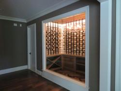 Custom Heavy Wine Cellar Glass