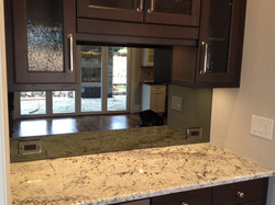 Custom Cut Backsplash