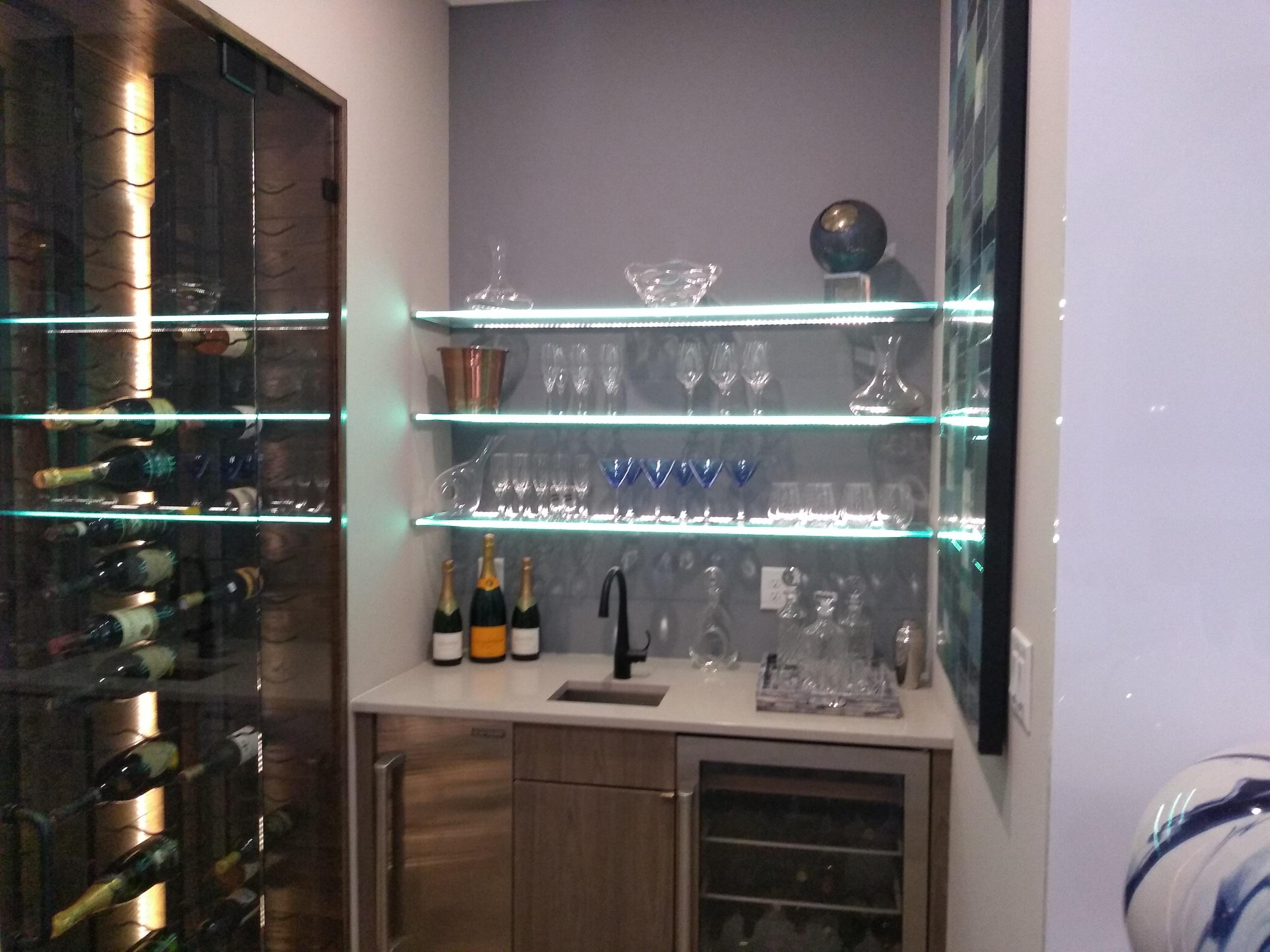 Lighted Glass Shelves (1)