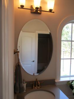 24 x 36 Beveled Oval Mirror