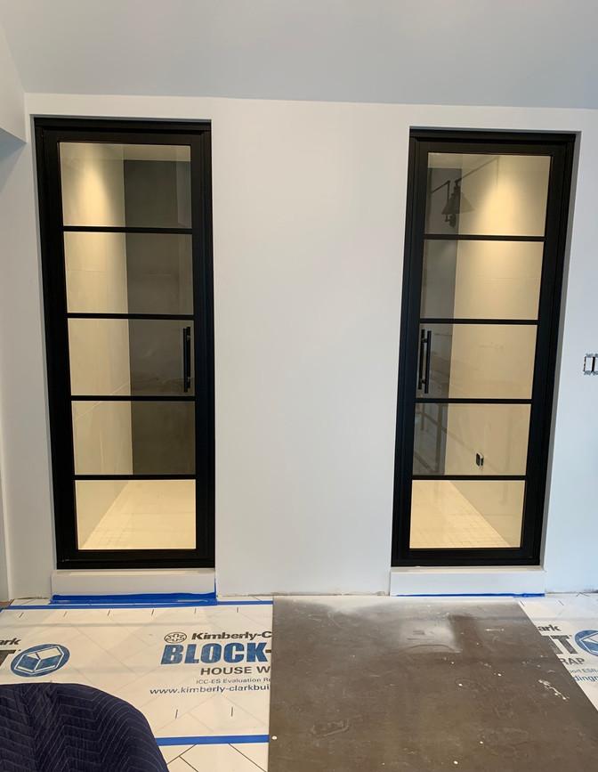 Double Master Shower Doors