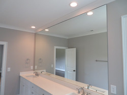 Full Height Tight Fit Polished Edge Mirror