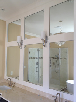 Mirrors set in Custom Trim Layout