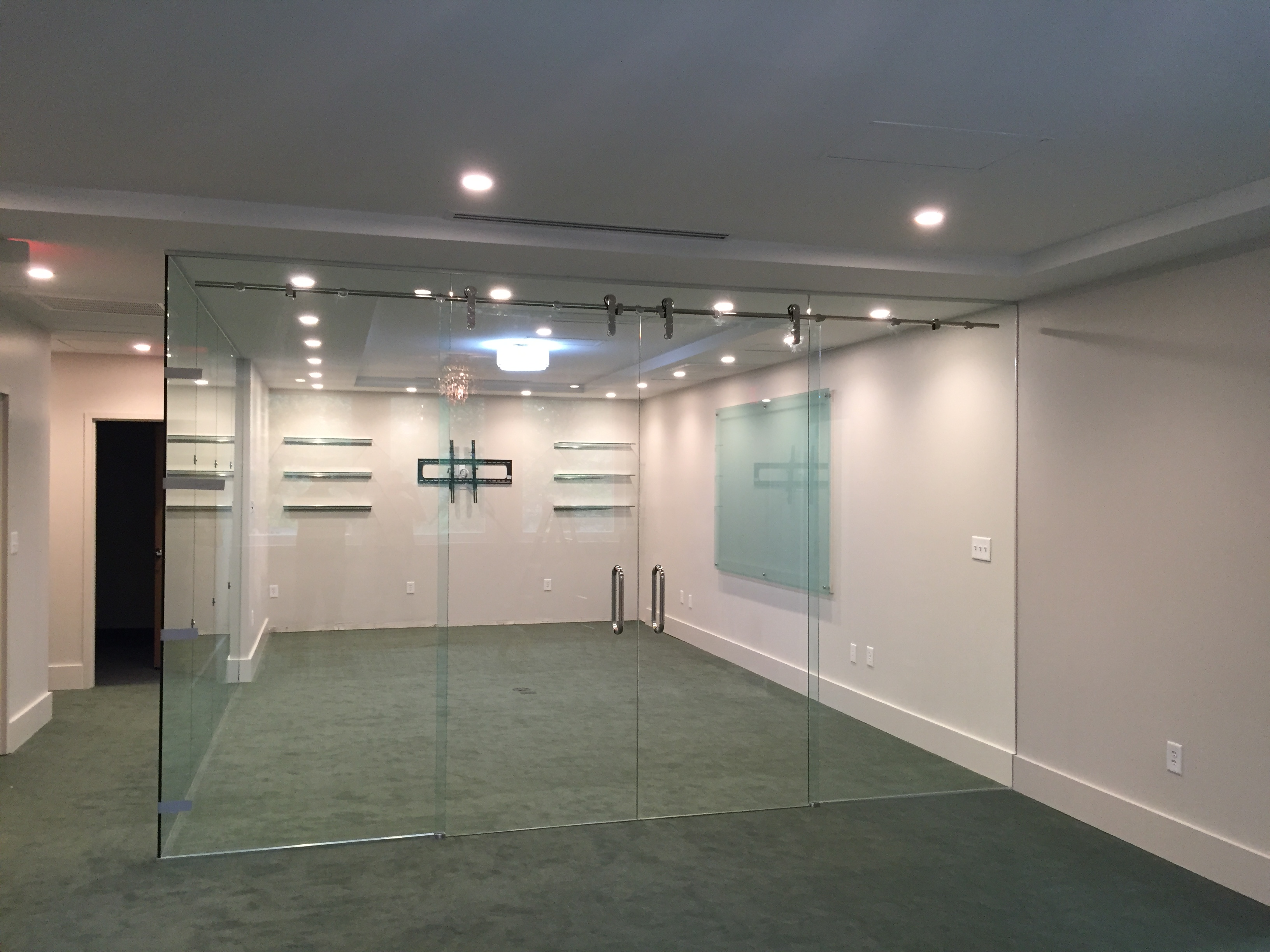 Glass Office Conference Room