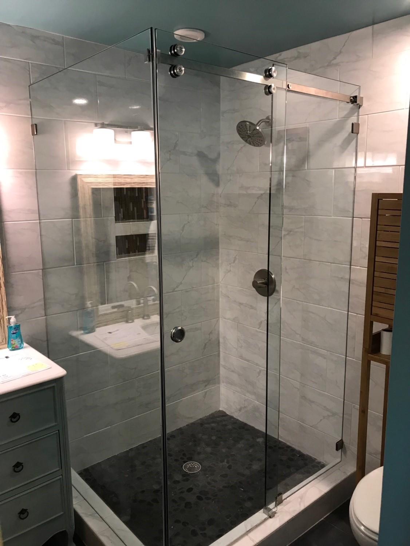 90 degree Serenity Shower