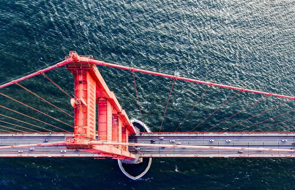 Aerial Photo of Golden Gate Bridge