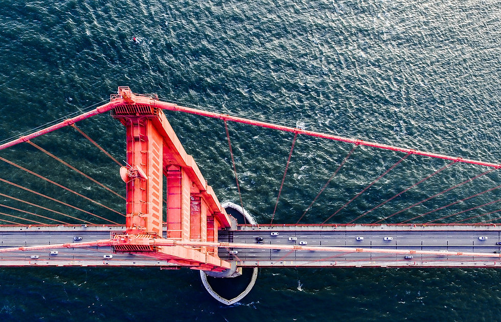 Aerial Photo of Golden Gate Bridge