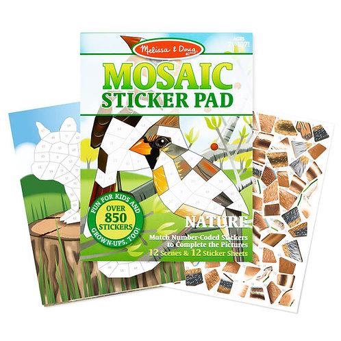 Melissa & Doug: Mosaic Sticker Pad (Nature)
