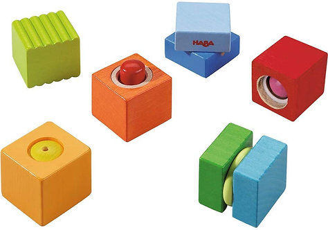 HABA Toys: Discovery Blocks Fun With Sounds (Made in Germany)