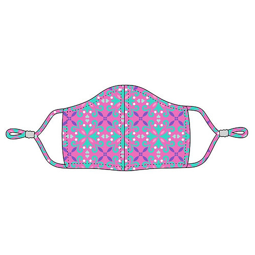 Child's Adjustable Mask - Lila