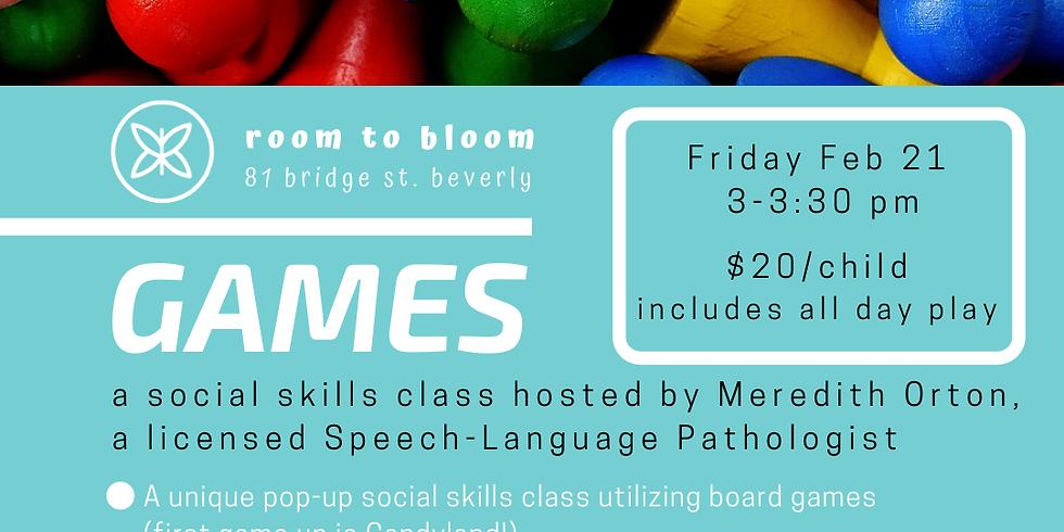 GAMES! a Social Skills class