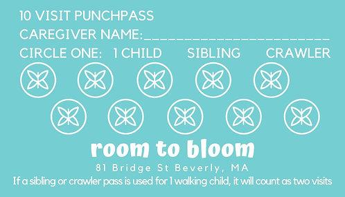 10 Visit Punchpass