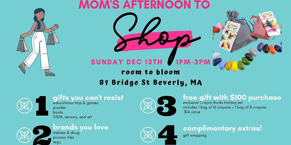 Mom's Afternoon to Shop (Naptime!)