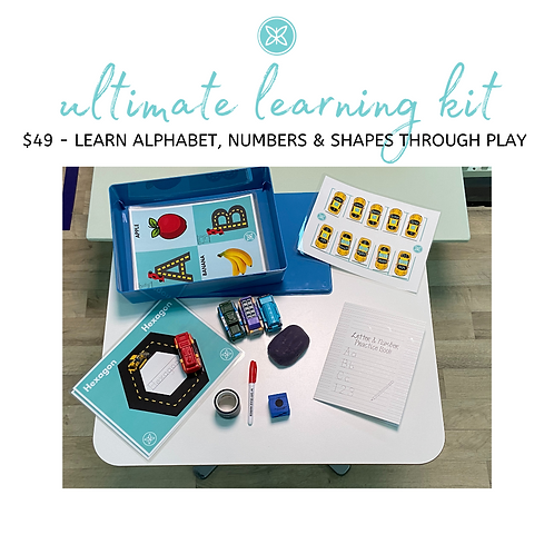 Learning the Alphabet, Numbers & Shapes Through Play