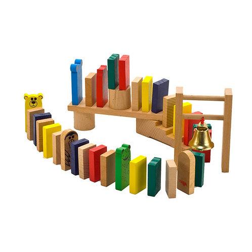 HABA Toys: 249pc Go Go Dominoes