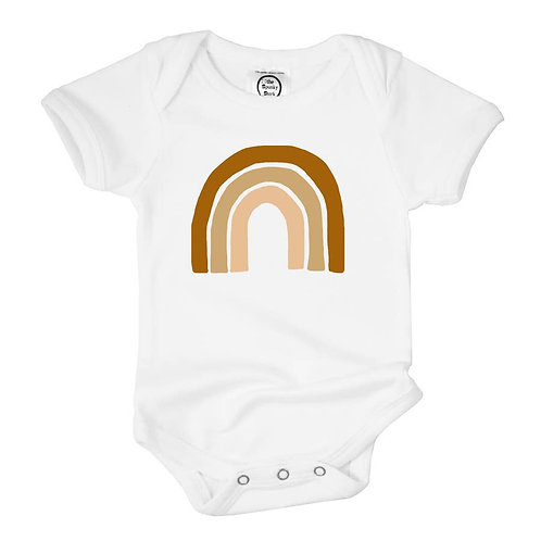 Earthy Rainbow - Onesie -or- Toddler Shirt