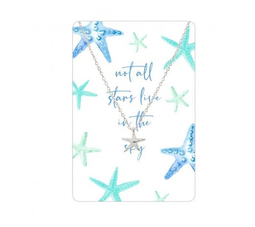 Necklace Card (Not All Stars Live In The Sky)