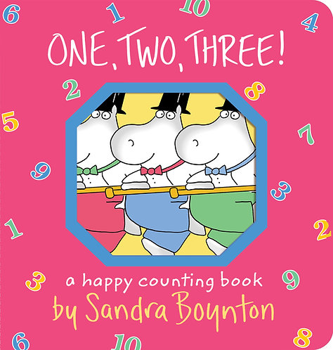 One, Two, Three! by Sandra Boynton